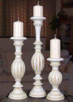 Kerzenstaender aus Holz KSC MOF 2