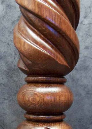 Gedrechselte Saeule Detail 031