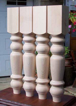 Tischbeine aus Holz, 047