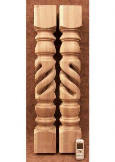 Tischbeine Holz aus amerikanischem Nussbaum, TL14