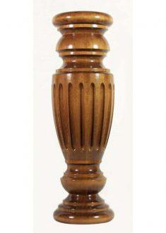 Tischbeine Holz mit dichtem Zierfraesen, TL18