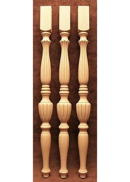 Tischbeine Holz mit zierlicher Form, TL03