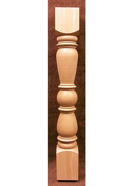 Geländerstäbe Holz KN01